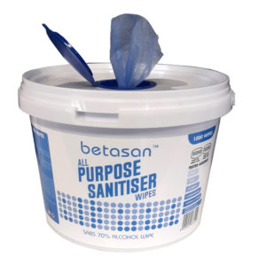 Betasan All Purpose Sanitiser Wipes WR 30