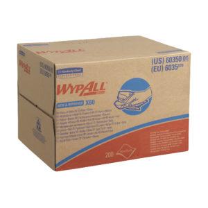 WypAll  X60 Cloths – Brag Box (Box of 200 Cloths)