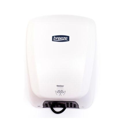 Breeze Hand Dryer White 1.8KW WAHD-1012
