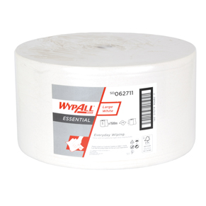 WypAll Essential Large White – 1 Ply Paper