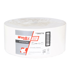 WypAll Essential Medium White – 1 Ply Paper Wiper