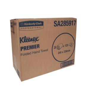 Kleenex Premier Folded Hand Towels – Kimberly Clark