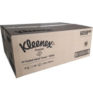 Kleenex Premier M-Folded Hand Towels – Kimberly Clark