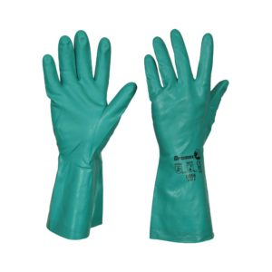 GREEN NITRILE GLOVES – SIZE 9 / M