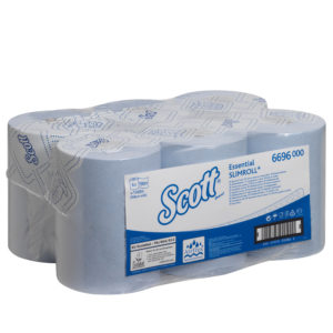 Scott Essential Slimroll Hand Towels – Blue