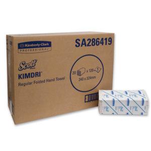Scott Kimdri Folded Hand Towels – Kimberly Clark