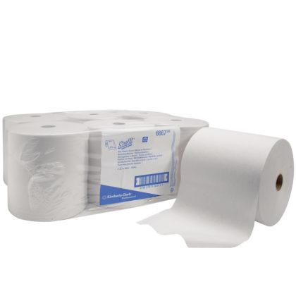 SCOTT Ultra Rolled Hand Towel 6667