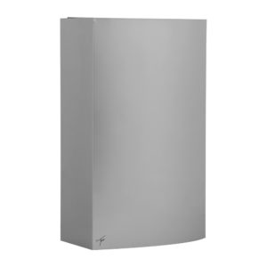 Silver Steel Wall Bin 27L