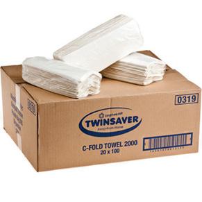 Twinsaver C-Fold Paper Hand Towels – 2000s (0319)