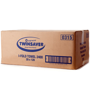 Twinsaver Interfold Folded Towels  – 2400 (0315)