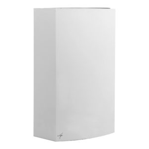 White Steel Wall Bin 27L