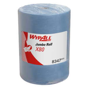 WypAll X80 Cloths – Large roll