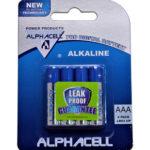 Alphacell Alkaline AAA Battery