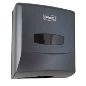 Breeze Folded Towel Dispenser – Graphite Grey