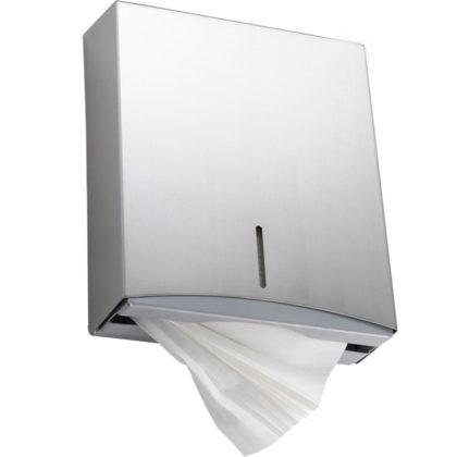 Folded-Paper-Towel-Dispenser-Stainless-Steel (2)
