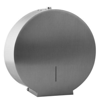Stainless Steel Jumbo Deca Toilet Roll Holder