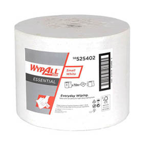 WypAll Essential – Small White – 1Ply Paper Wiper