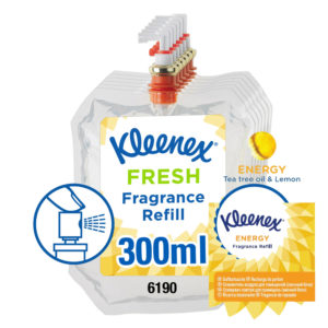 Kleenex – Energy Fragrance Refill – Lasts 90 days