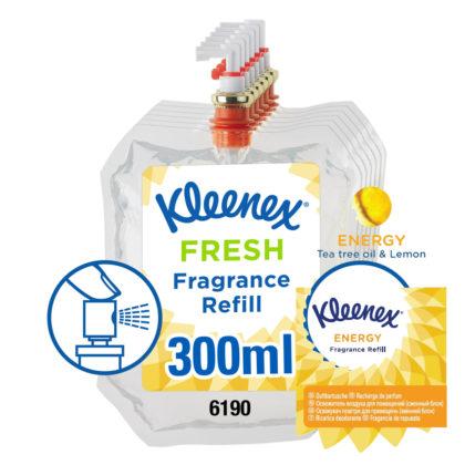 Kleenex Energy Fragrance Refill 300ml