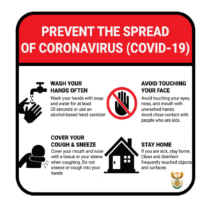 COVID-19 Prevention Tips – ABS Sign