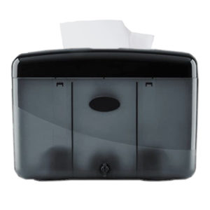 Pearl Folded Towel Dispenser – Countertop Free Standing