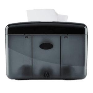 Pearl Countertop Paper Towel Dispenser Black