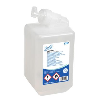1L Scott Alcohol Foam Hand Sanitiser 6392