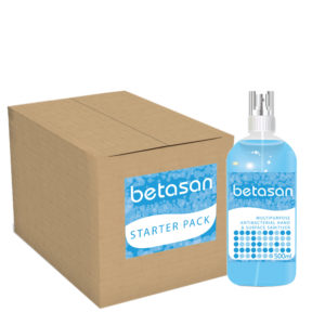 Betasan Liquid Sanitiser 9 x 500ml