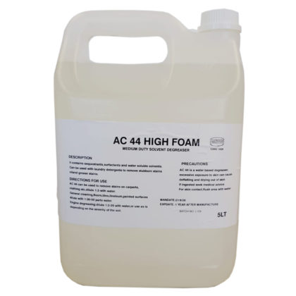 AC 44 High Foam Meduim Duty Solvent Degreaser