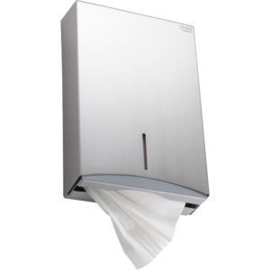 Excel Compact  Folded Towel Dispenser – Stainless Steel