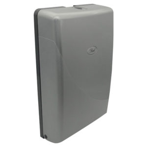 Pearl Compact  Folded Towel Dispenser – Platinum