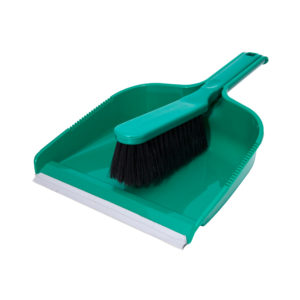 Dust Pan SET GREEN BRBR-2136