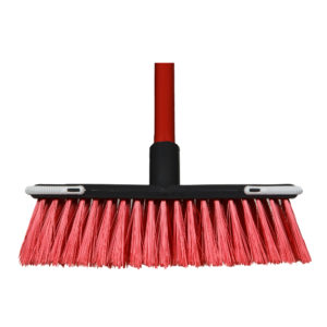 Promo Household Broom - Red BMGE-1062