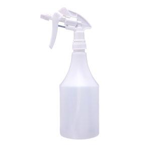 750ml Spray Bottle / Trigger – White